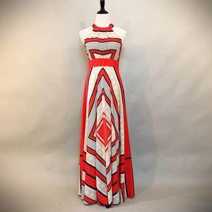 Eliza J Scarf Print Dress